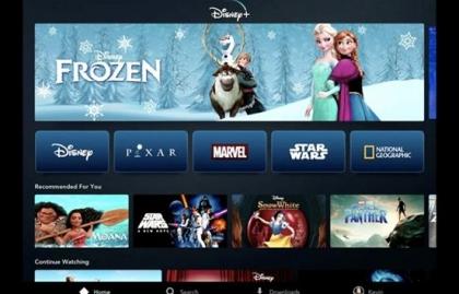 Imagen Disney+ se lanzará en noviembre y costará $6.99 dólares al mes
