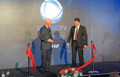 Imagen Record TV inauguró estudios y oficinas en Miami