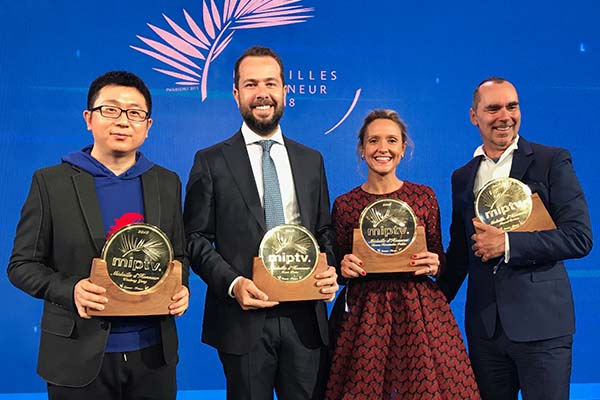 Imagen La tercera jornada de MIPTV entregó las Médailles d'Honneur 2018