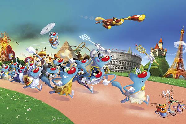 Imagen Xilam Animation cerró nuevas alianzas editoriales y de licencias en Francia