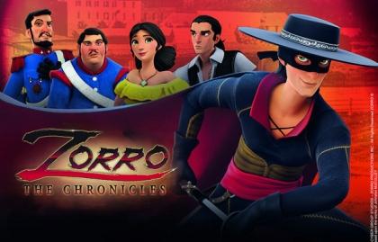 """Imagen Groupe PVP y Cyber Group firmaron un acuerdo interactivo por """"El Zorro"""""""