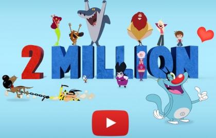 Imagen Xilam suma más de 2 millones de suscriptores en YouTube