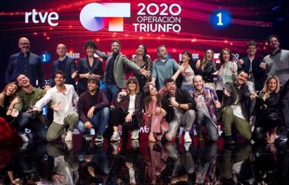 """LAVINIA VOICE DESARROLLÓ EL QUIZ DE """"OPERACIÓN TRIUNFO 2020"""""""