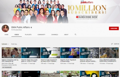 GMA NEWS AND DIGITAL PLATFORMS GROW ITS REACH IN THE PHILIPPINES