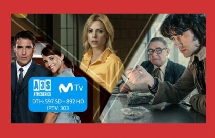 ATRESERIES AMPLÍA SU PRESENCIA EN MOVISTAR TV COLOMBIA
