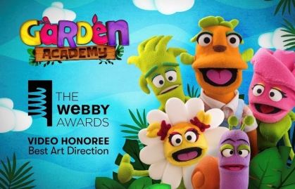 HONORABLE MENTION OF WEBBY FOR NOGGIN LATIN AMERICA\