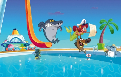 """XILAM ANIMATION APPOINTED NEW AGENT IN NORTH AMERICA FOR """"ZIG & SHARKO"""""""