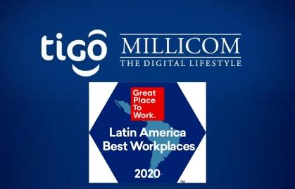 MILLICOM EN EL TOP 25 DE LOS MEJORES LUGARES PARA TRABAJAR 2020 EN LATINOAMÉRICA