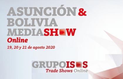 ASUNCIÓN & BOLIVIA MEDIA SHOW TENDRÁN SU EDICIÓN ONLINE