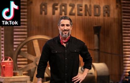 """TIKTOK Y RECORD TV SE UNEN PARA LA 12ª EDICIÓN DEL REALITY """"A FAZENDA"""""""