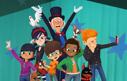 """FEDERATION PARTNERS WITH TEAMTO ON THE NEW SERIES """"PRESTO! SCHOOL OF MAGIC"""""""