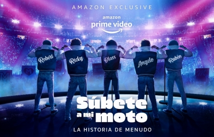 """SÚBETE A MI MOTO"" SE ESTRENARÁ A TRAVÉS AMAZON PRIME VIDEO"