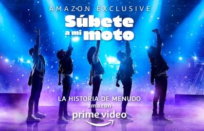 """SÚBETE A MI MOTO"" LLEGA A AMAZON PRIME VIDEO"