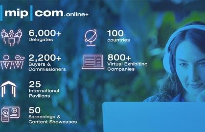 MIPCOM ONLINE+ KICKS OFF WITH 6,000+ PARTICIPANTS