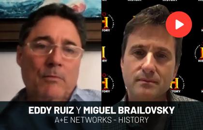 """EDDY RUIZ: """"LOS 20 AÑOS DE HISTORY HAN SIDO DE UNA TRANSFORMACIÓN ENORME"""""""