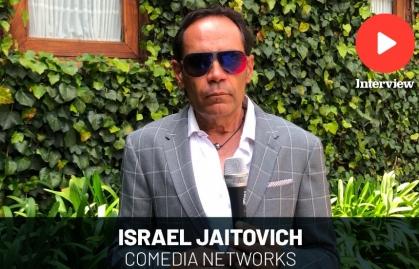 """ISRAEL JAITOVICH: """"COMEDIA NETWORKS UNIFICA TALENTOS ESPECIALIZADOS EN HUMOR"""""""
