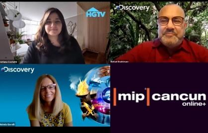 MIP CANCÚN 2020: DISCOVERY ESTRENARÁ NUEVOS CONTENIDOS DE PRODUCCIÓN HÍBRIDA