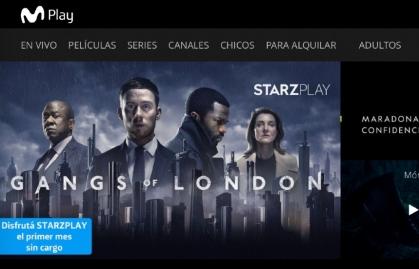 STARZPLAY SE SUMA A LA OFERTA DE CONTENIDOS DE MOVISTAR PLAY