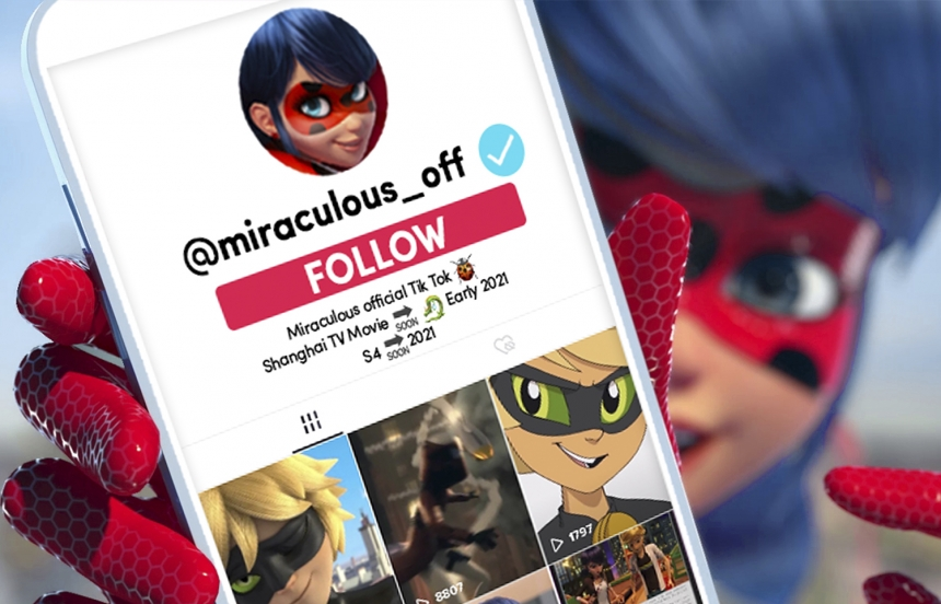 """ZAG AND ON KIDS & FAMILY LAUNCH """"MIRACULOUS"""" ON TIKTOK"""