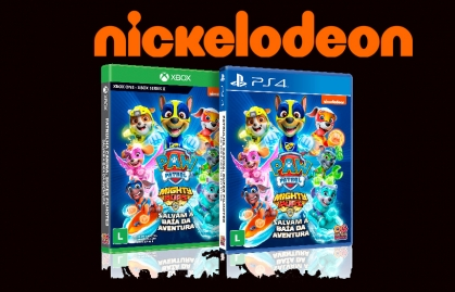 "NICKELODEON BRASIL LANZA EL JUEGO ""PATRULHA CANINA"" PARA PS4 Y XBOX ONE"