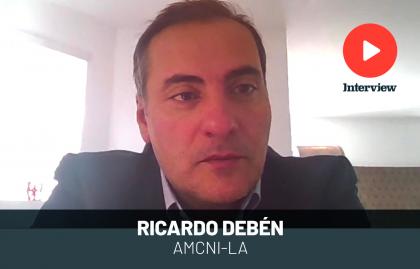 """RICARDO DEBÉN: """"LA PERFOMANCE DE AMC NETWORKS ES MAYOR A LA EXPERIMENTADA POR EL MERCADO"""""""