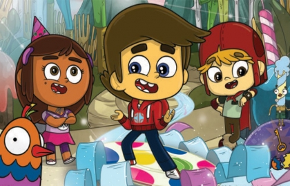"""REDKNOT GREENLIGHTS ANIMATED SERIES """"SUPER WISH"""""""