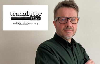 SKY STUDIOS LAUNCHES A NEW PRODUCTION COMPANY, TRANSISTOR FILMS