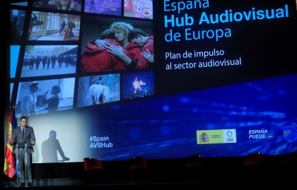 SPAIN BOOSTS ITS AUDIOVISUAL INDUSTRY WITH A €1,600 MILLION INVESTMENT