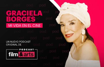 LA HISTORIA DE GRACIELA BORGES LLEGA AL PODCAST ORIGINAL DE FILM&ARTS