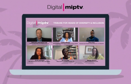 MIPTV 2021: HOW TO SHAPE A DIVERSE AND INCLUSIVE ENVIRONMENT