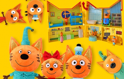 """APC KIDS CONFIRMS BIZAK AS TOY DISTRIBUTOR FOR """"KID-E-CATS"""" IN SPAIN AND PORTUGAL"""
