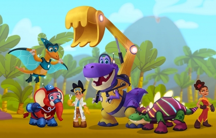 """ANNECY 2021: OMENS STUDIOS INTRODUCES ECO-FOCUSED SERIES """"EDDY AND THE ECOSAURS"""""""