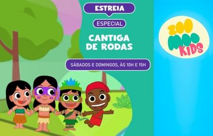 ZOOMOO KIDS ABRE SU SEÑAL EN SKY BRASIL DURANTE LAS VACACIONES ESCOLARES