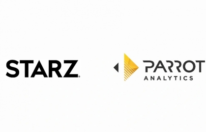 STARZ PARTNERS WITH PARROT ANALYTICS TO TAP INTO GLOBAL AUDIENCE DEMAND