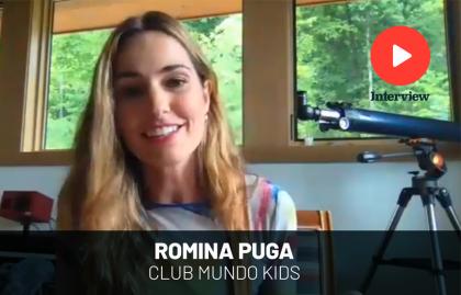 "ROMINA PUGA: ""CLUB MUNDO KIDS CELEBRA LAS DIFERENTES CULTURAS LATINAS"""