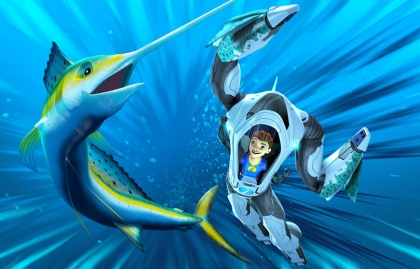 """A STARK PRODUCTION, WILDBRAIN AND INFINITE STUDIOS TEAM UP IN """"THE DEEP"""" NEW SEASON"""