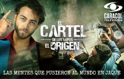 """""""EL CARTEL DE LOS SAPOS, EL ORIGEN"""" DE CARACOL TELEVISIÓN LLEGA A NETFLIX"""