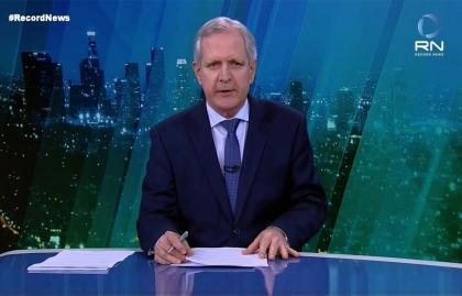 """AUGUSTO NUNES DEJA EL """"JORNAL DA RECORD NEWS"""" Y LA DIRECCIÓN DE NOTICIAS DE R7"""