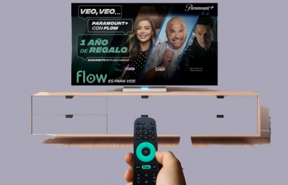 Paramount+ se incorpora a la plataforma de Flow en Argentina
