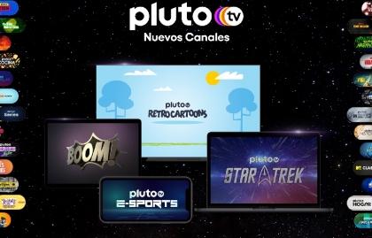 Pluto TV suma tres nuevos canales en América Latina y otros tres para Brasil