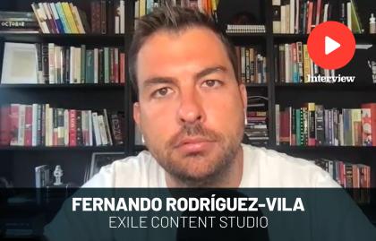 """Fernando Rodríguez-Vila: """"El podcast es el formato más íntimo"""""""