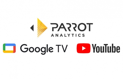 Parrot Analytics partners with YouTube and Google TV