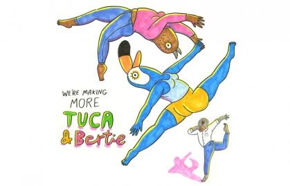 "Adult Swim Greenlights a Third Season of ""Tuca & Bertie"" Animated Series"