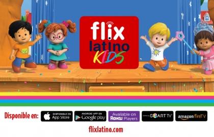 FlixLatino agrega nuevo contenido infantil en FlixKids