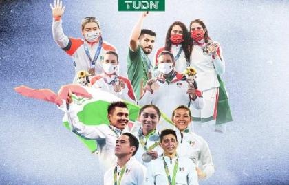 TUDN logra una audiencia olímpica superior a los 216 millones en TV abierta