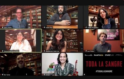 """La serie """"Toda la sangre"""" abrirá discusión en torno a la identidad mexicana"""
