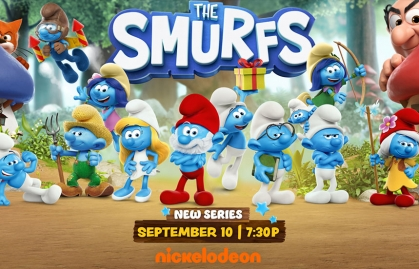 """Nickelodeon will premier an All-New """"The Smurfs"""" Animated Series"""