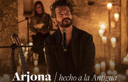 Ricardo Arjona llega a Paramount+ con concierto exclusivo