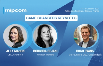 Mipcom 2021 announces its first two confirmed keynote sessions