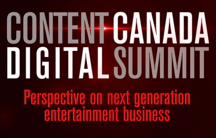 Content Canada Digital Summit will be held from September 21 to October 1